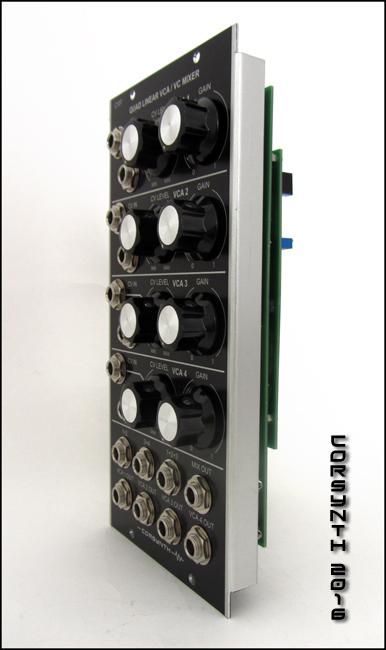 c107 quad vca    vc mixer