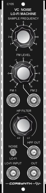 C105 VC Noise / LO-FI Machine