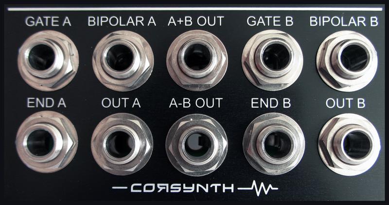 Corsynth C106 Jacks
