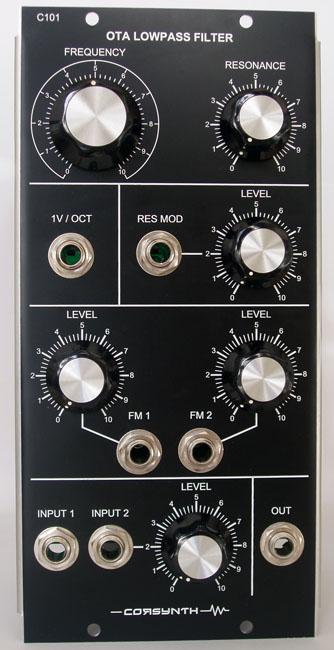 C101 OTA Lowpass Filter - Mog Unit MU