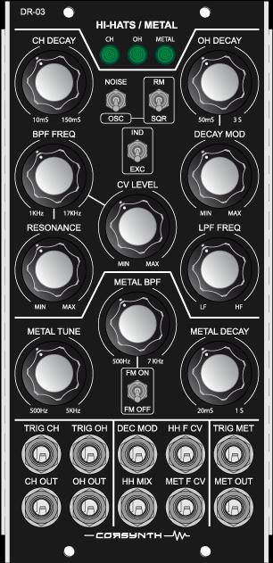 DR-03 Hi-Hat / Metal