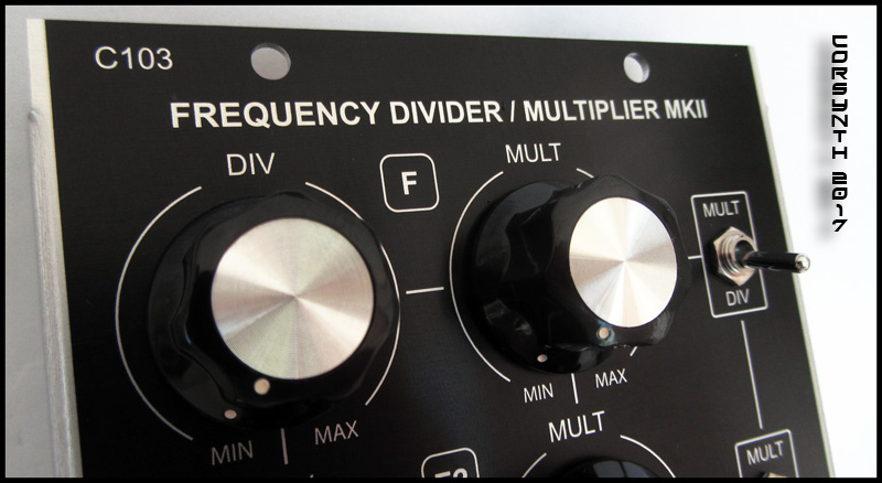C103 Frequency Divider / Multiplier MKII - Click Image to Close